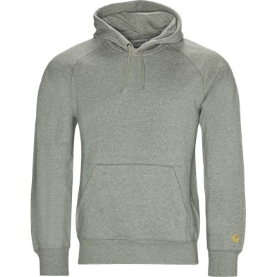 Hooded Chase Sweatshirt Regular | Hooded Chase Sweatshirt | Grå